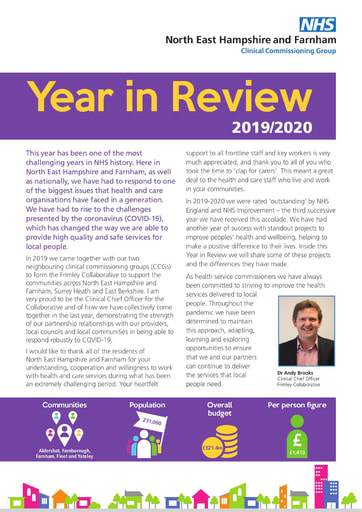 North East Hampshire and Farnham year in review 2019-20