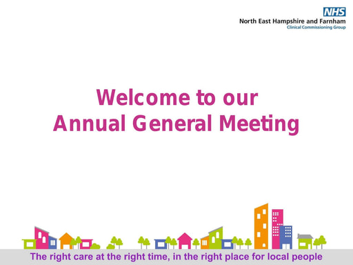 North East Hampshire and Farnham Introduction Slides AGM